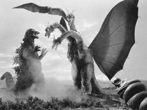 Godzilla e King Ghidorah